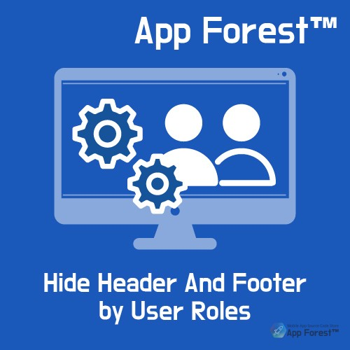 AppForest Hide Header And Footer by User Roles