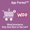 AppForest WooCommerce Only One Item in the Cart