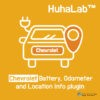 Huhalab Chevrolet Battery, Odometer and Location Info plugin