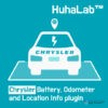 Huhalab Chrysler Battery, Odometer and Location Info plugin