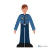 metagraphic metaverse interactive character puppet Police officer Jackson